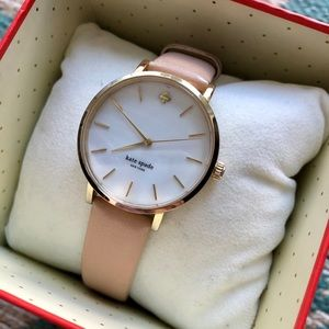Kate Spade Blush Leather Watch